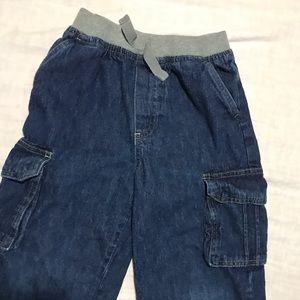 Boys elastic waist jeans